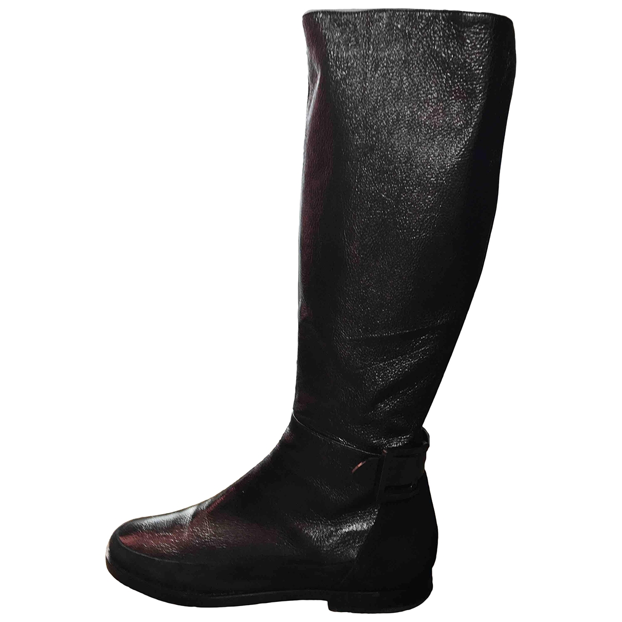 Rodo \N Black Leather Boots for Women 36 EU