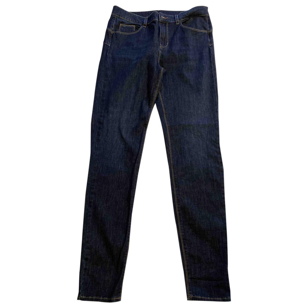 Liu.jo \N Blue Cotton - elasthane Jeans for Women 32 US