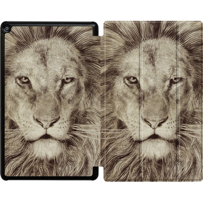 Amazon Fire HD 10 (2018) Tablet Smart Case - Leo Lion von Eric Fan