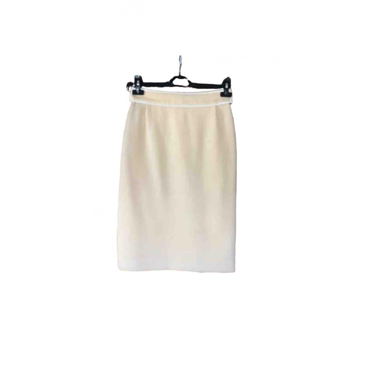 Louis Vuitton - Jupe   pour femme en coton - beige