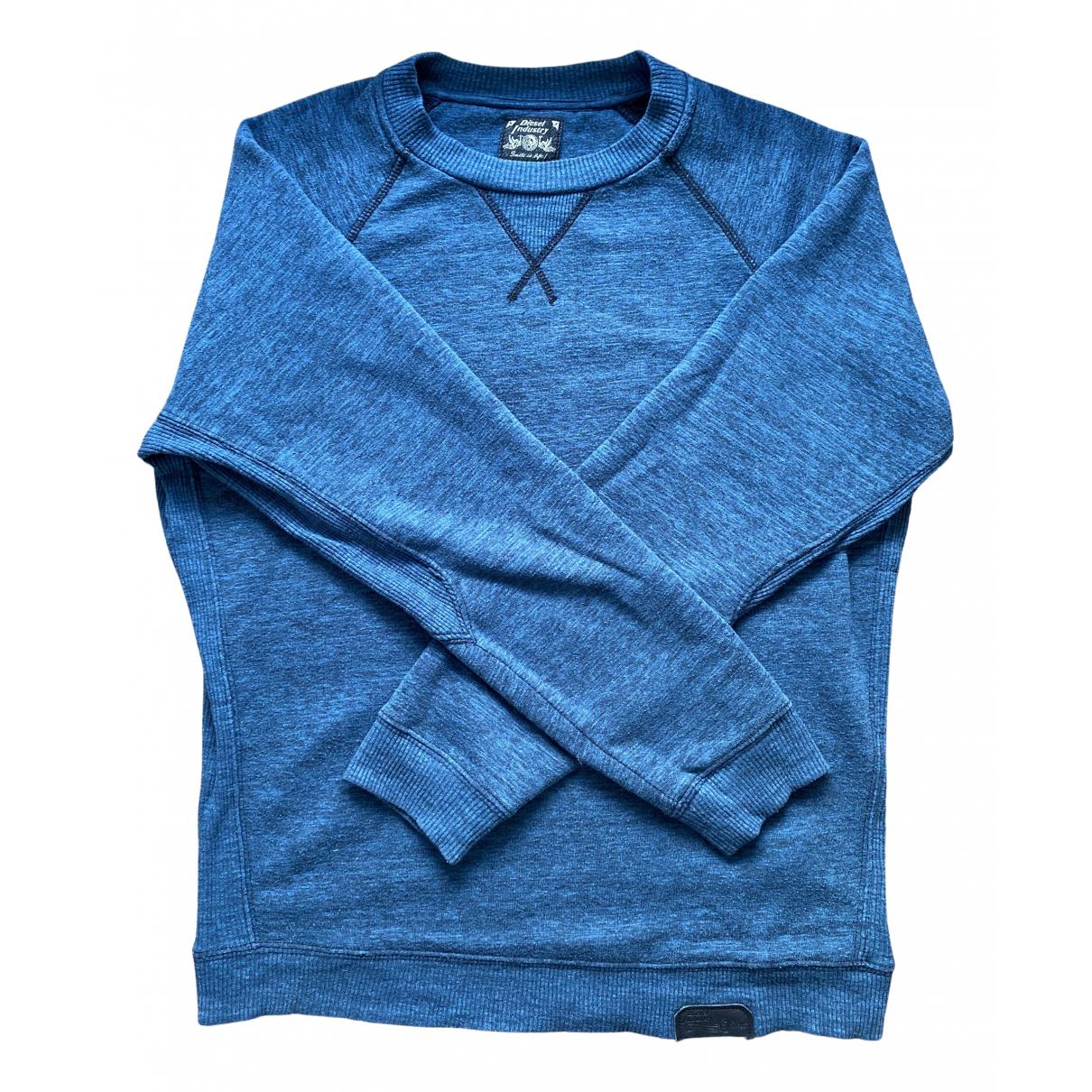 Diesel \N Pullover.Westen.Sweatshirts  in  Gruen Baumwolle