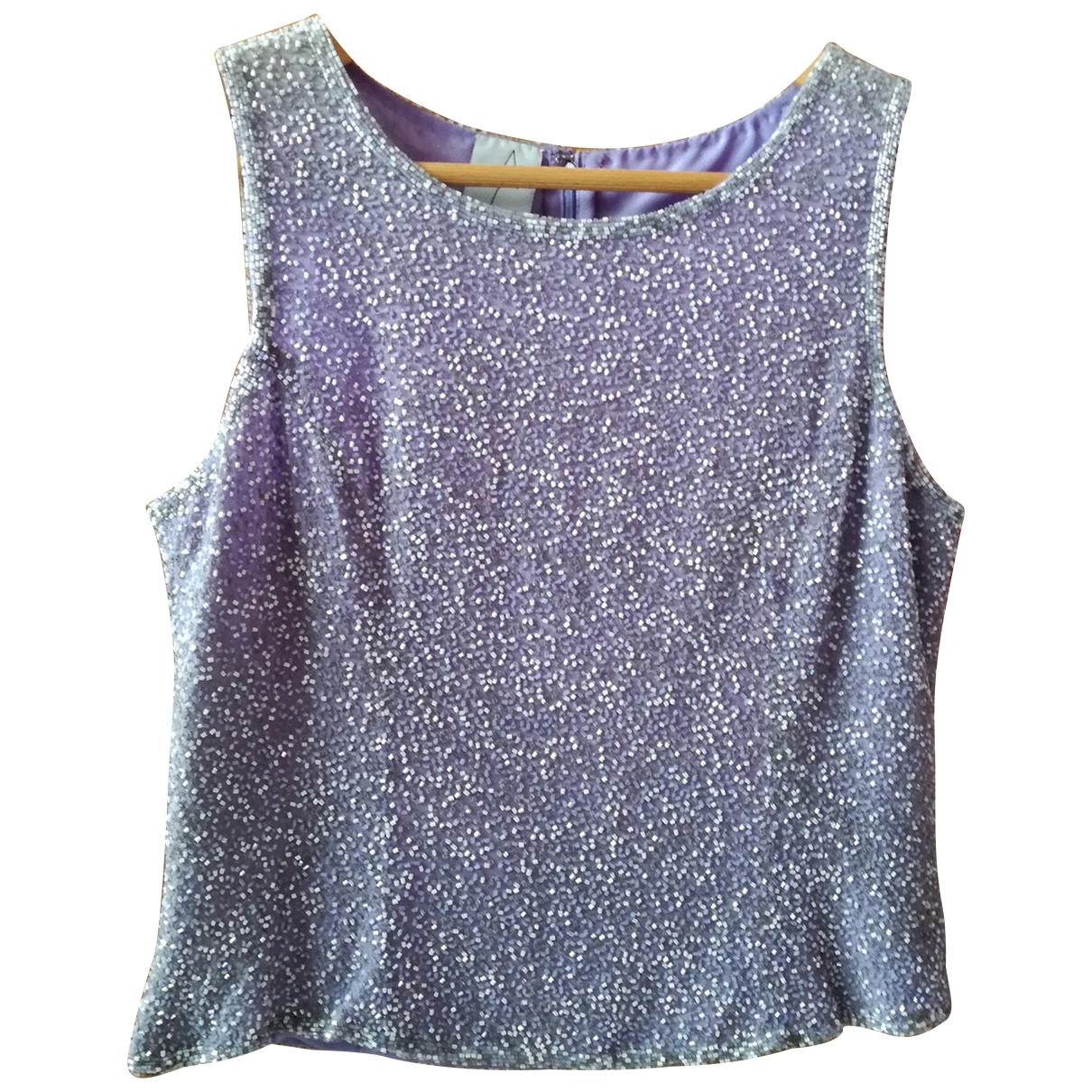 Non Signé / Unsigned \N Silk  top for Women 42 FR