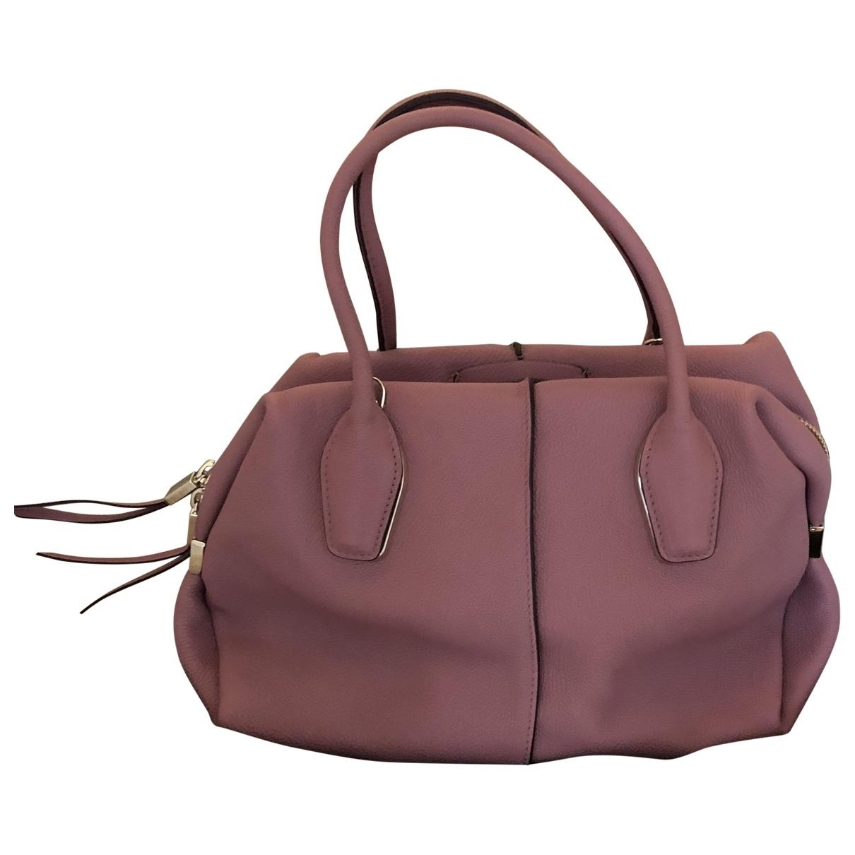 Tod's \N Pink Leather handbag for Women \N