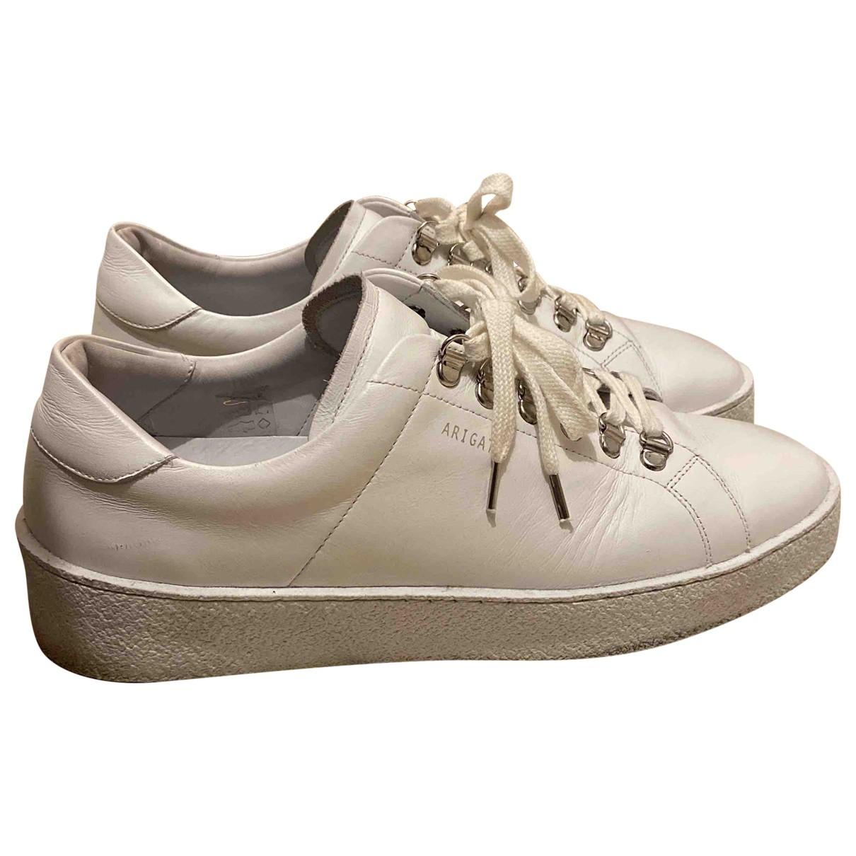 Axel Arigato - Baskets   pour homme en cuir - blanc