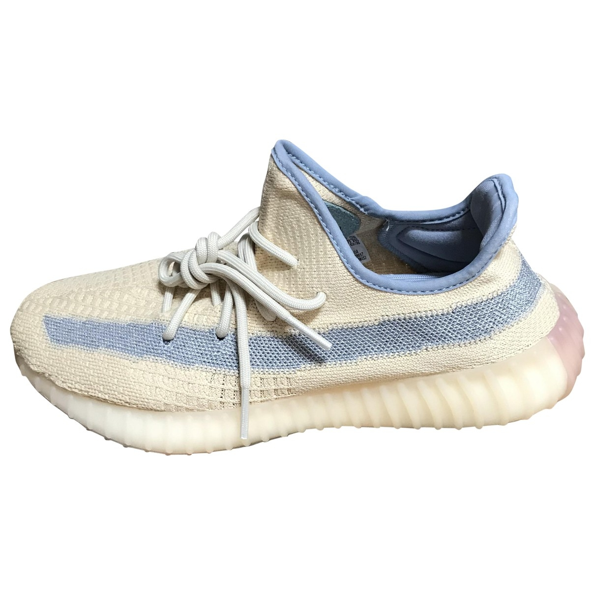 Yeezy X Adidas - Baskets Boost 350 V2 pour homme en toile - beige