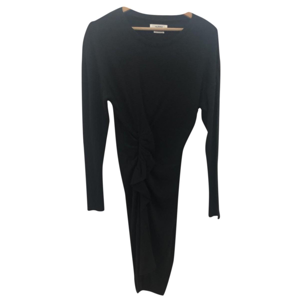 Isabel Marant Etoile - Robe   pour femme en laine - noir