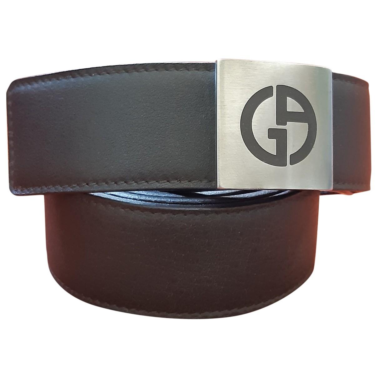 Cinturon de Cuero Giorgio Armani