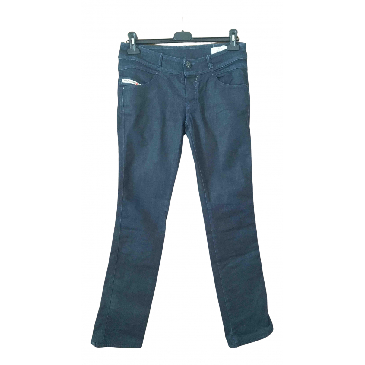 Diesel \N Blue Denim - Jeans Jeans for Women 28 US