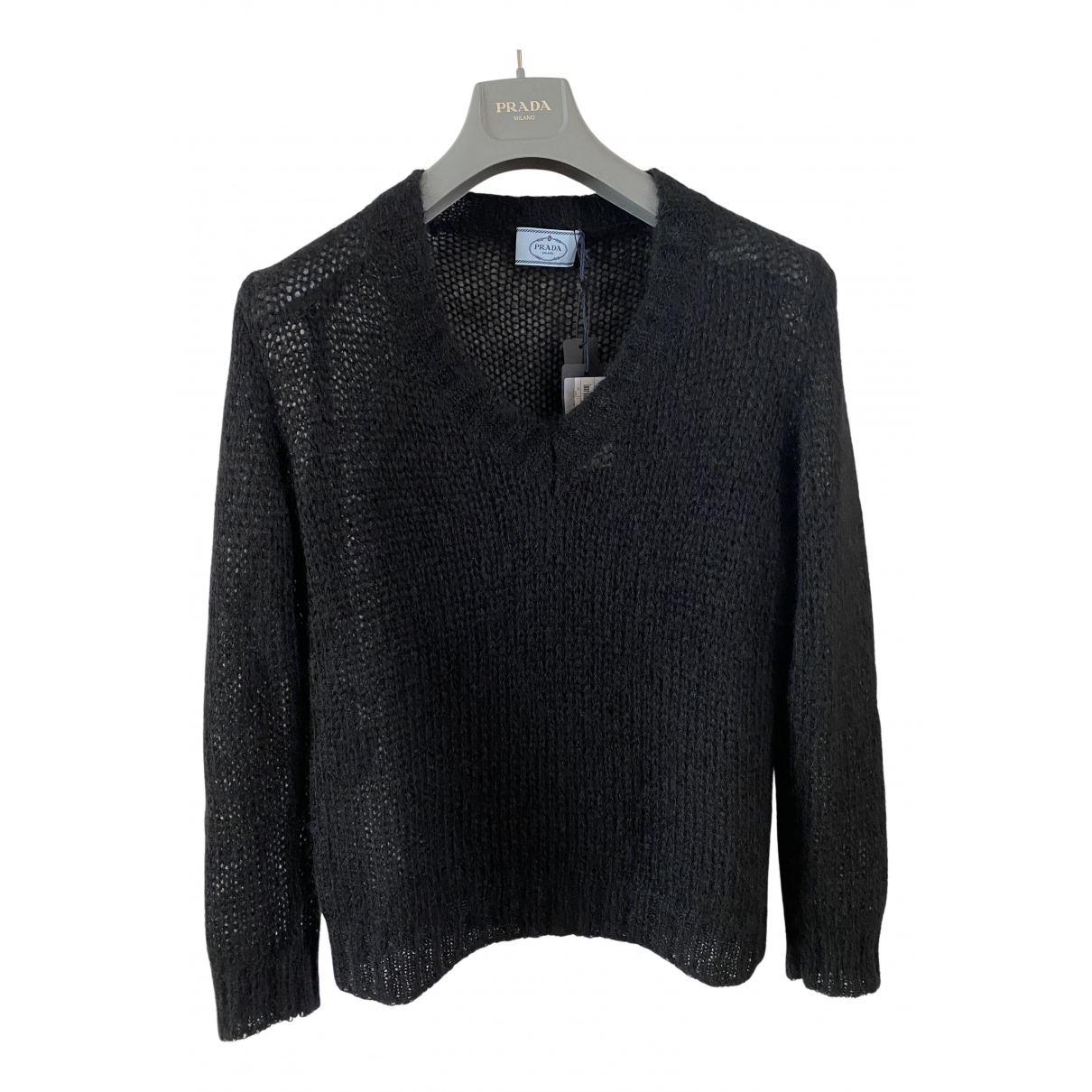 Prada N Black Wool Knitwear for Women 38 IT