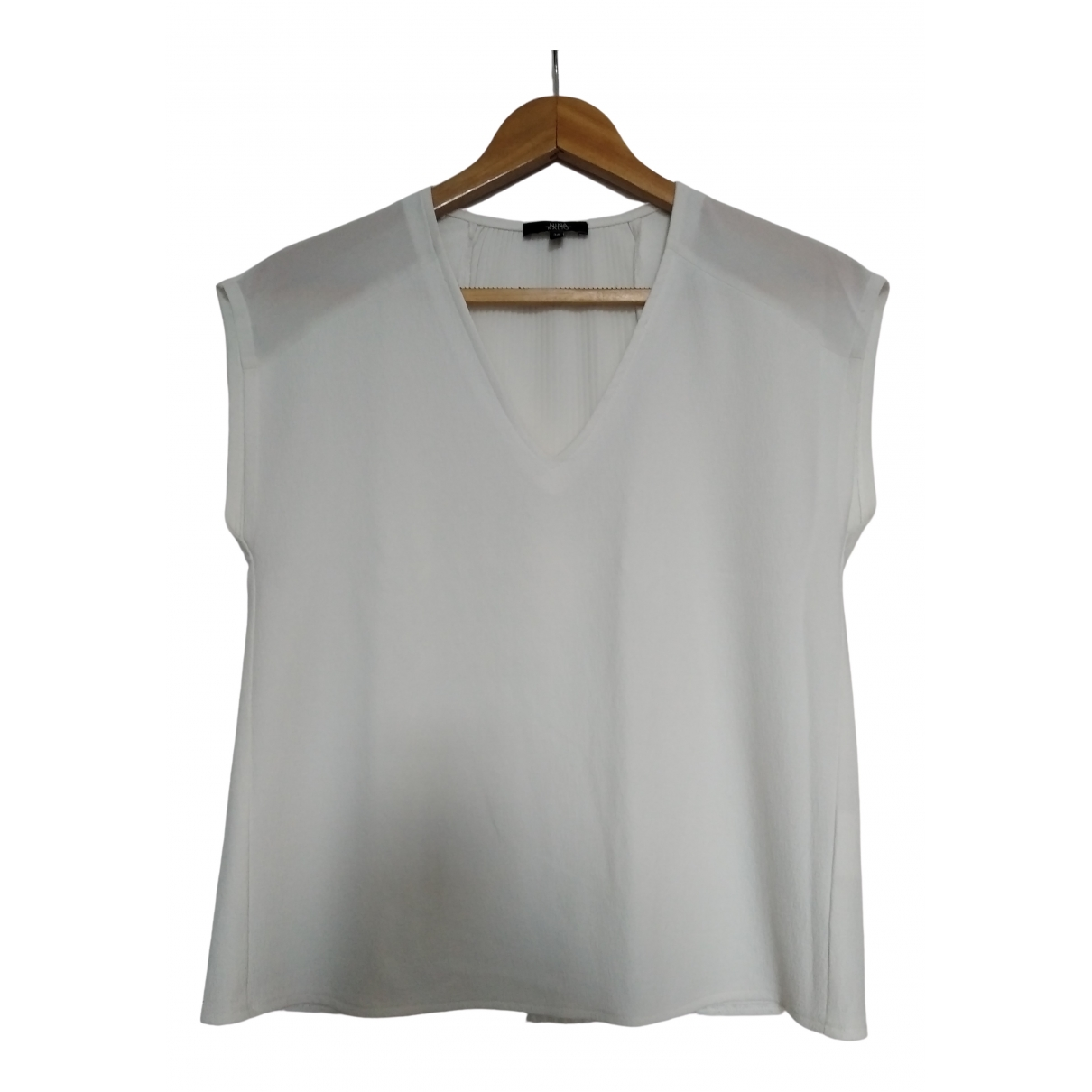 Non Signé / Unsigned \N White  top for Women 36 FR