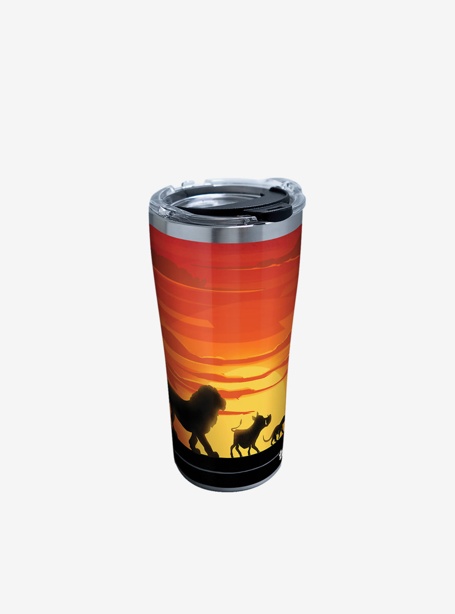 Disney The Lion King Silhouette 20oz Stainless Steel Tumbler With Lid