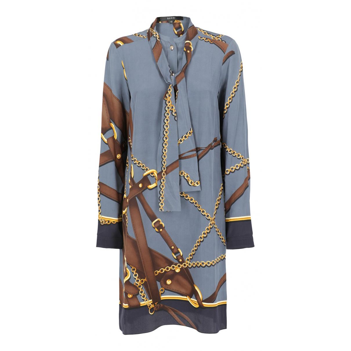 Gucci N Brown Silk dress for Women 42 IT