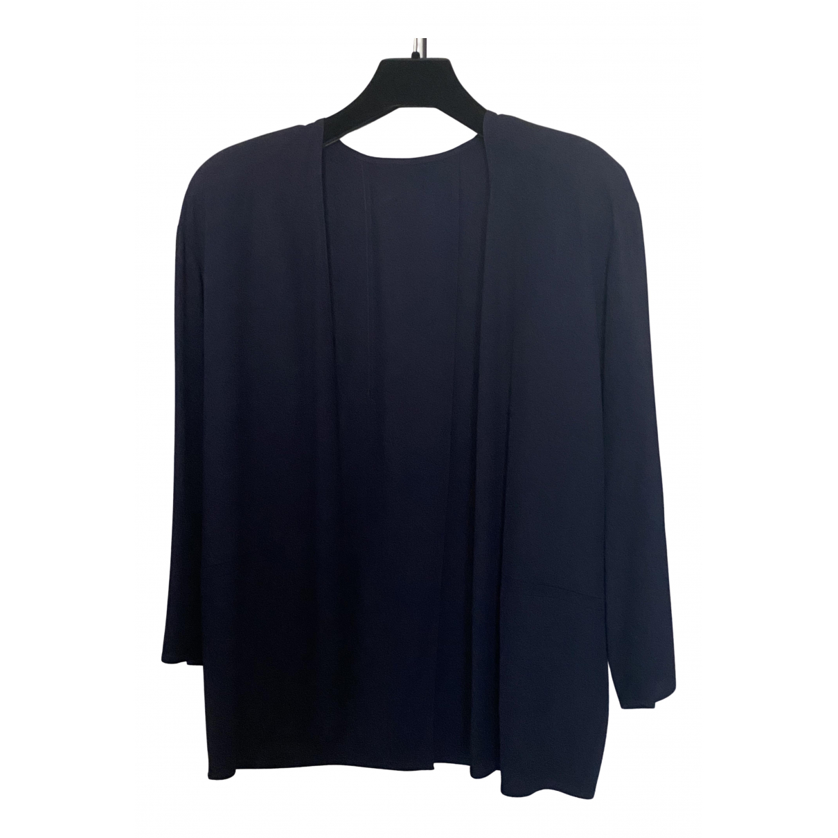 Non Signé / Unsigned Oversize Blue jacket for Women 46 IT