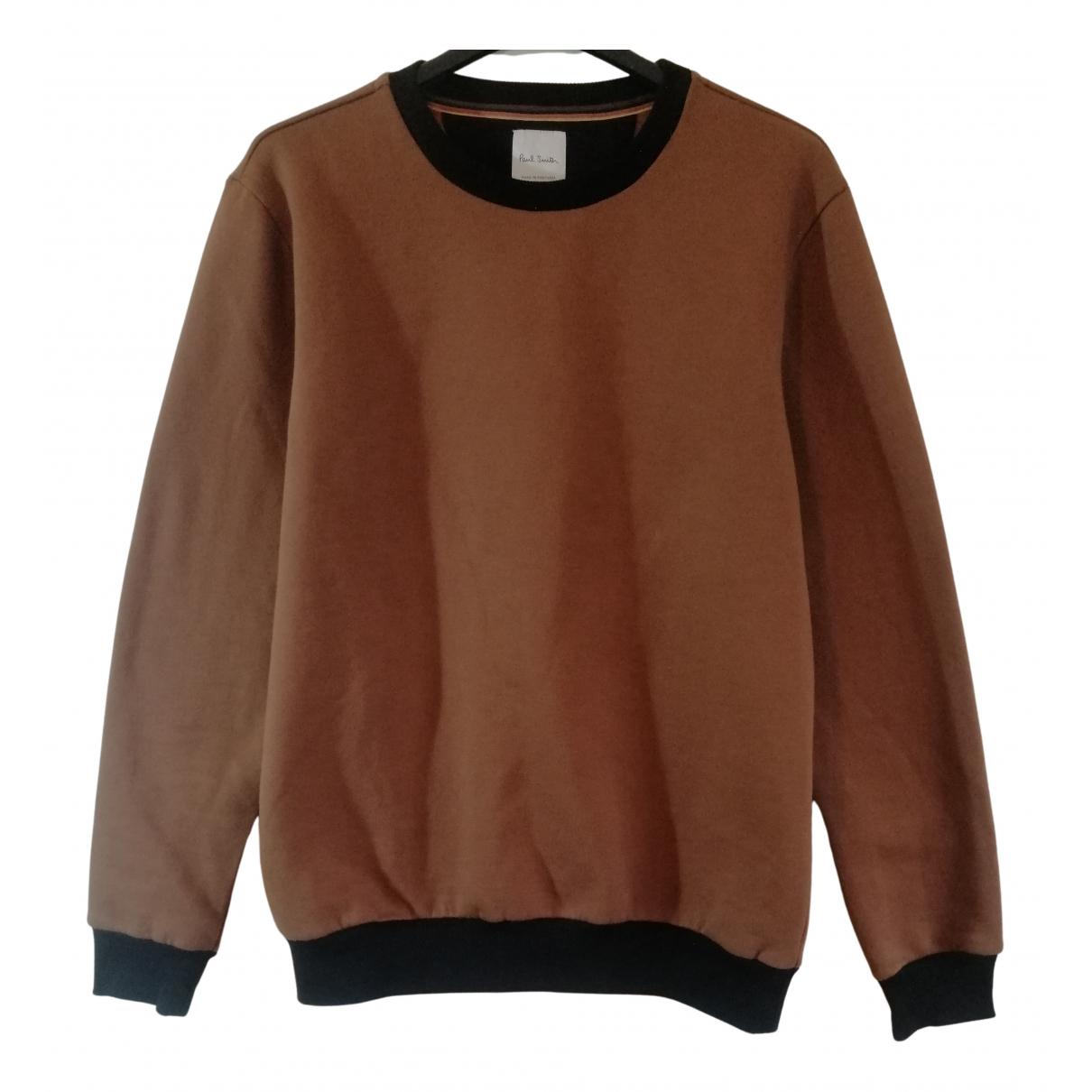 Paul Smith \N Pullover.Westen.Sweatshirts  in  Braun Baumwolle