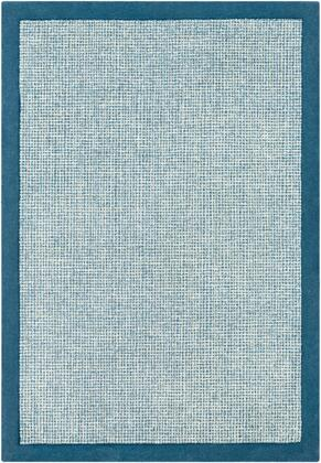 Siena SNA-2306 6' x 9' Rectangle Modern Rug in Bright Blue  Sky Blue