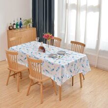 Feather Print Tablecloth