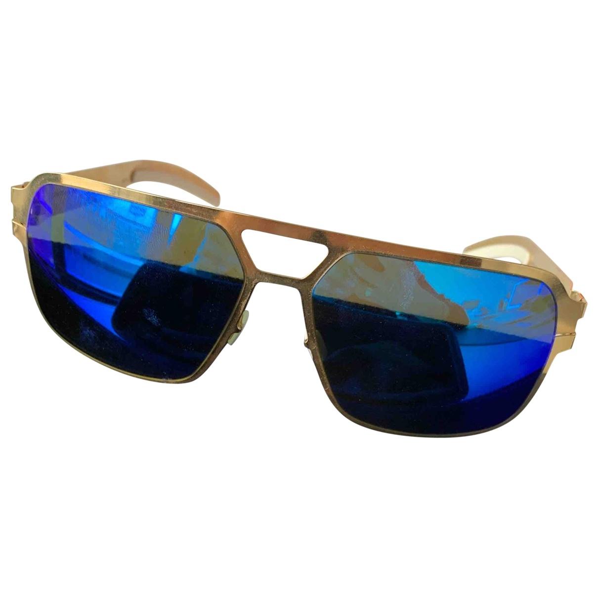Mykita \N Sonnenbrillen in  Blau Kunststoff