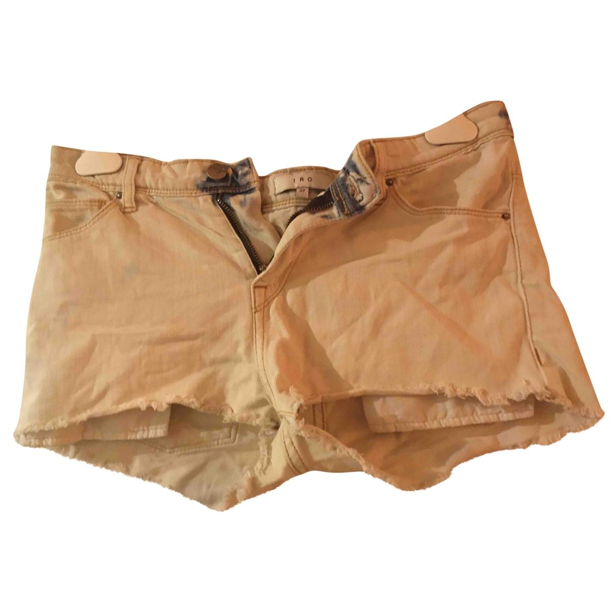 Iro \N White Denim - Jeans Shorts for Women 36 FR
