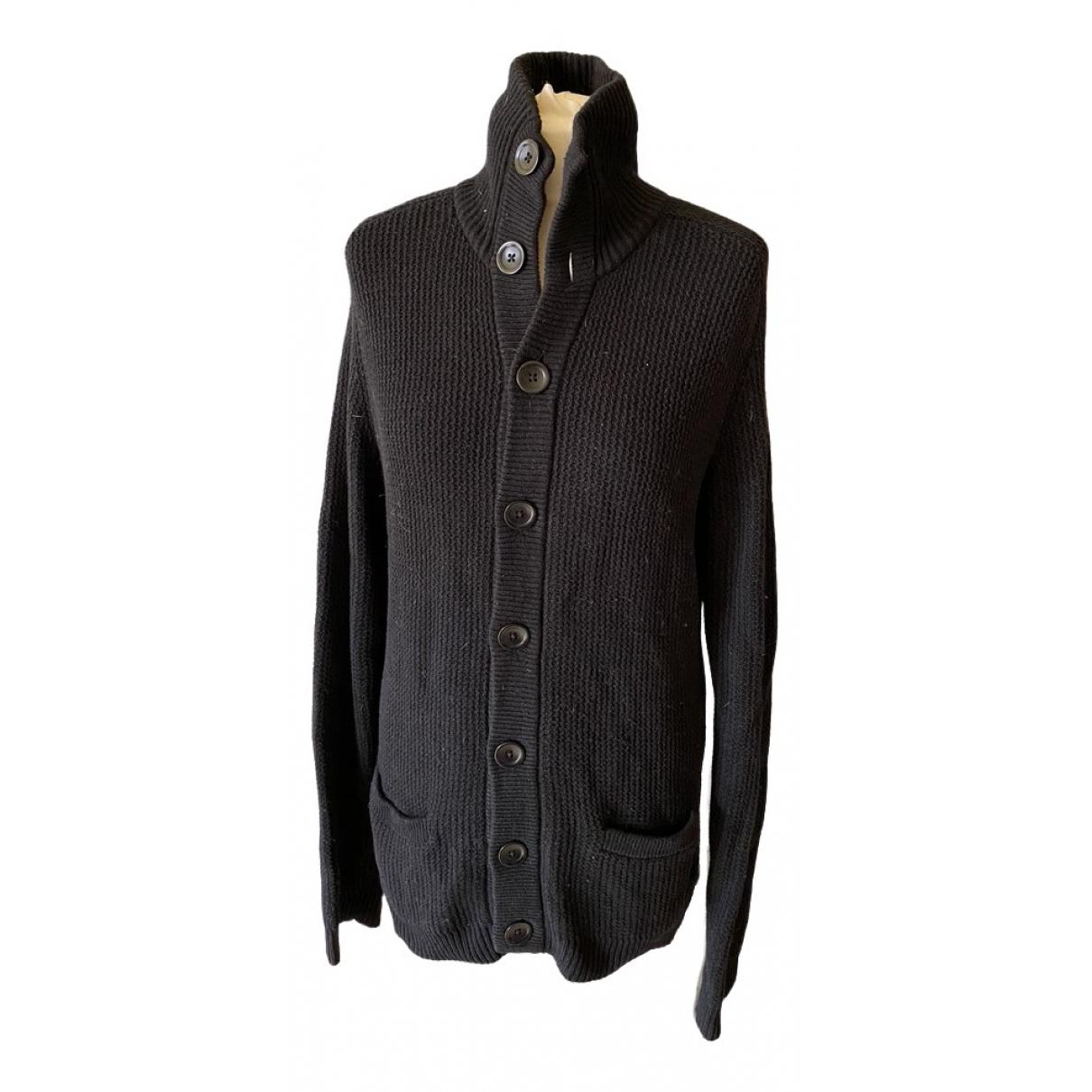 Filippa K \N Pullover.Westen.Sweatshirts  in  Schwarz Wolle