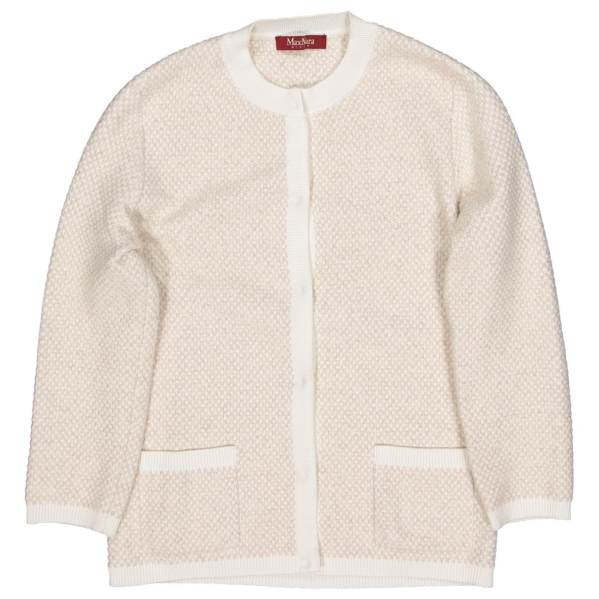 Max Mara Studio - Pull   pour femme en laine - beige