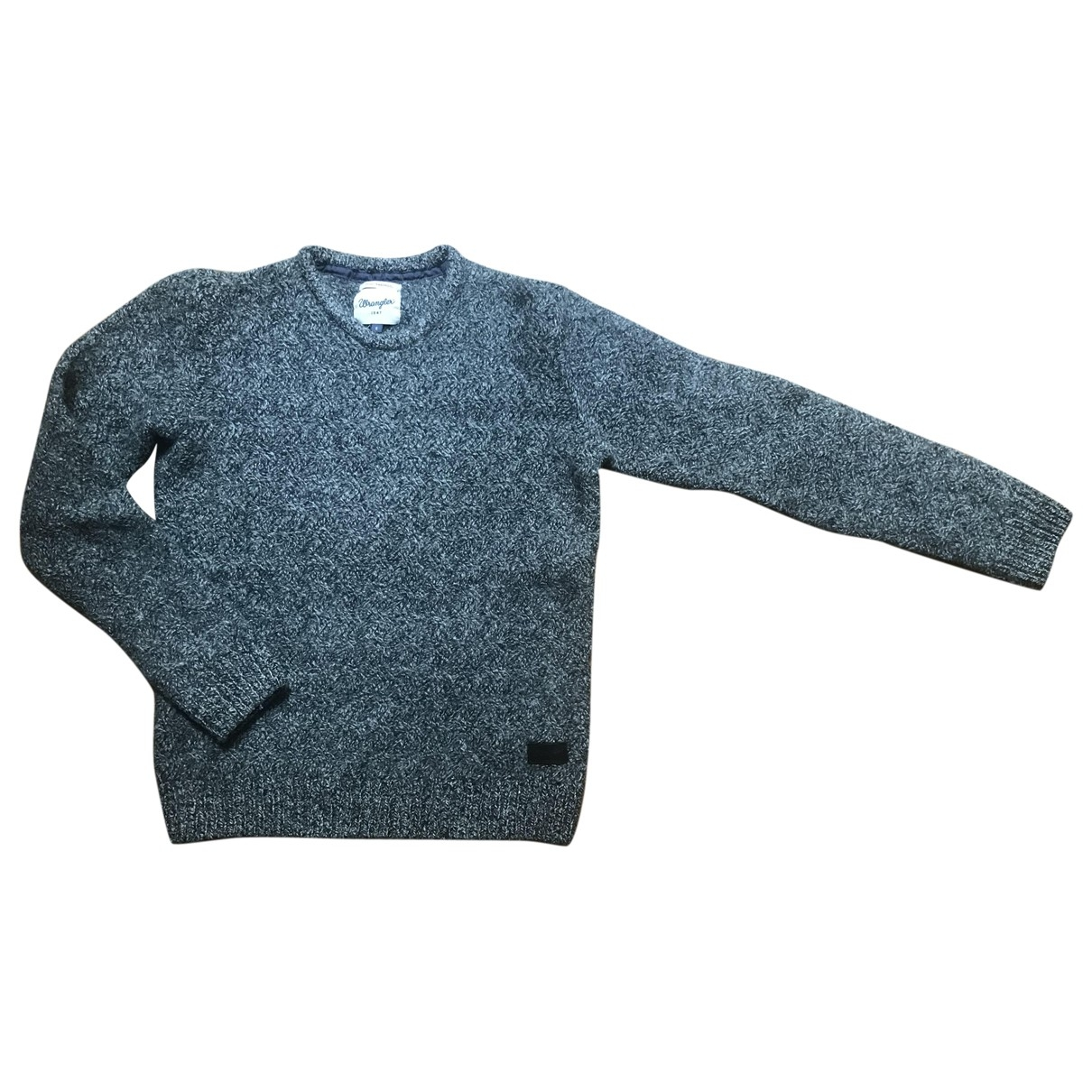 Wrangler - Pull   pour femme en laine - gris