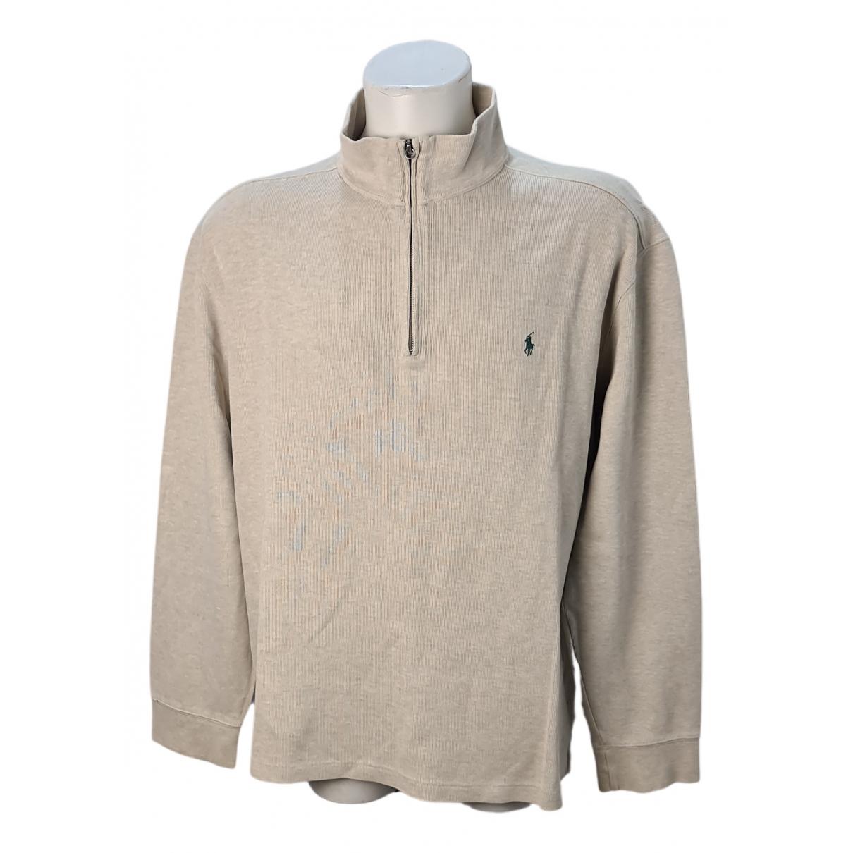 Polo Ralph Lauren \N Pullover.Westen.Sweatshirts  in  Beige Baumwolle