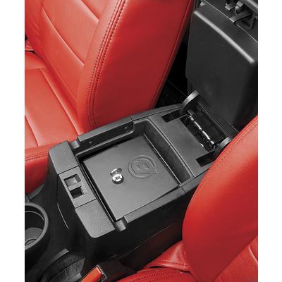 Bestop Interior Console Lock Box (Black) - 42643-01