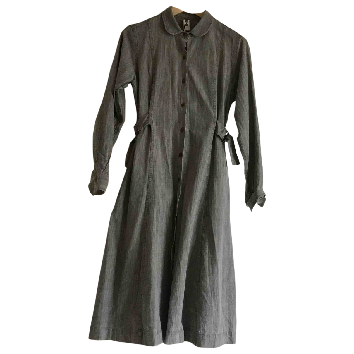 Margaret Howell \N Kleid in  Grau Denim - Jeans