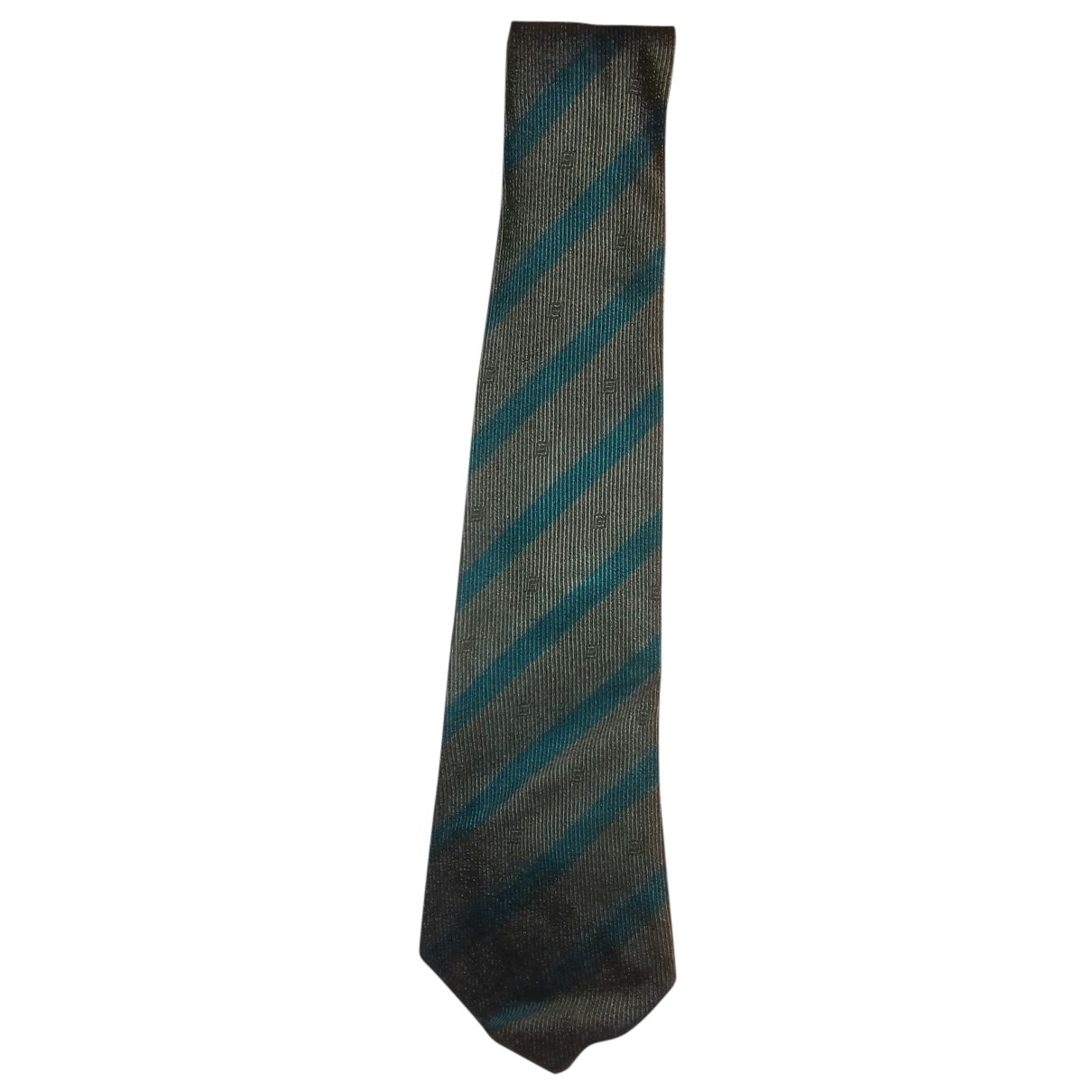 Givenchy N Green Silk Ties for Men N