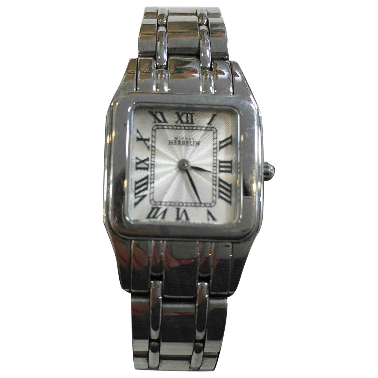 Michel Herbelin \N Silver Steel watch for Women \N