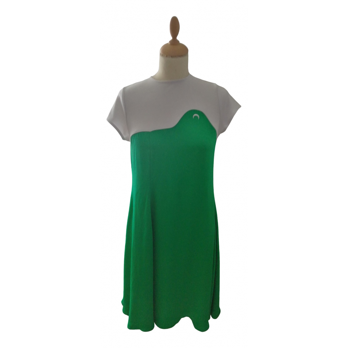 Marine Serre \N Green dress for Women 36 FR