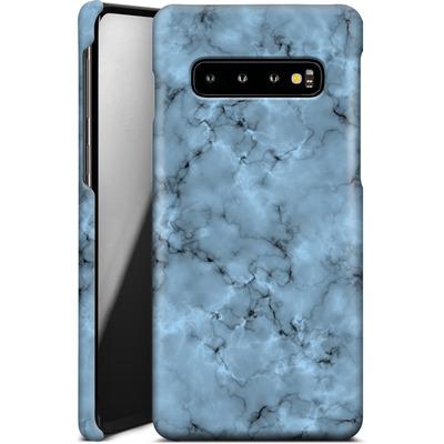 Samsung Galaxy S10 Smartphone Huelle - Blue Marble von caseable Designs