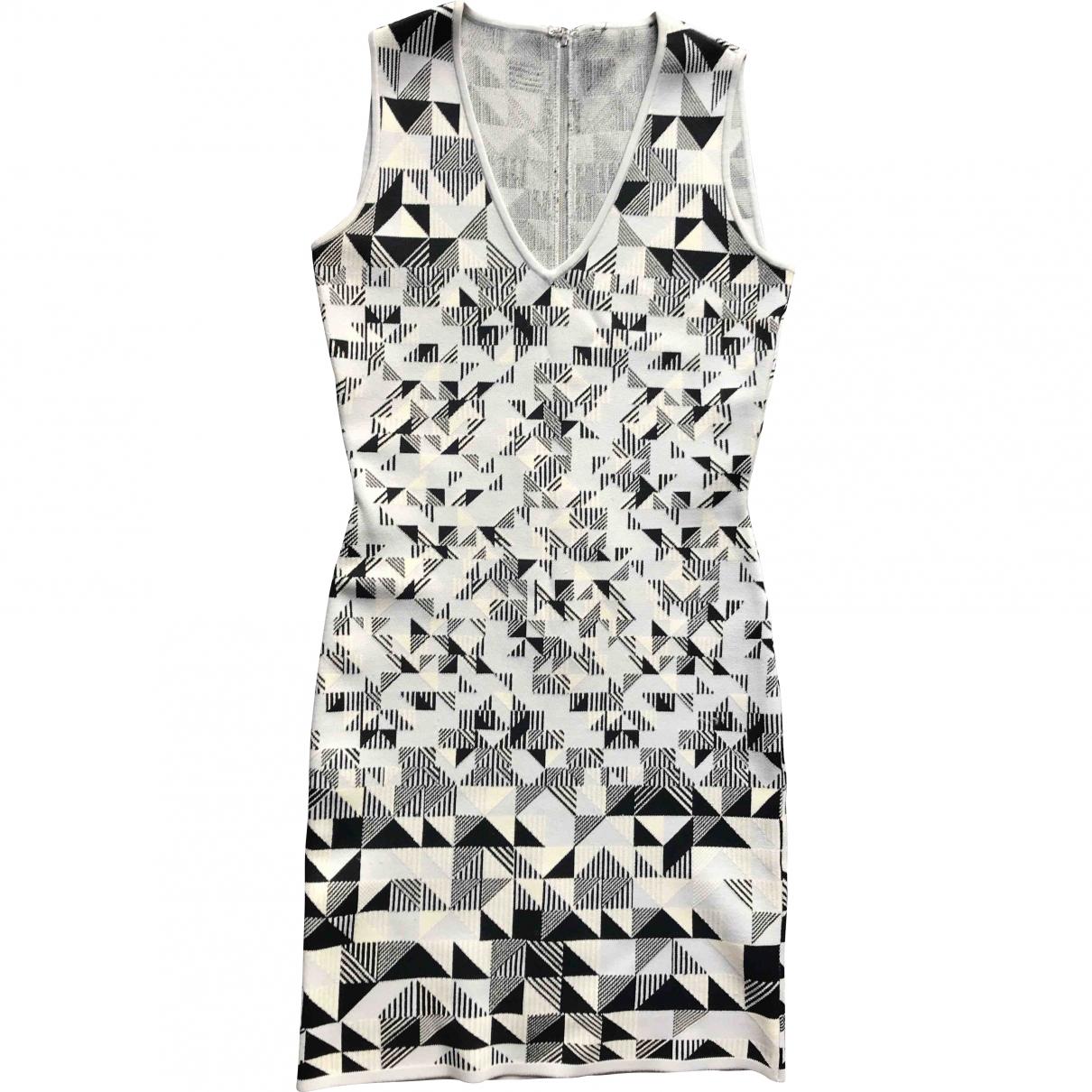 Bcbg Max Azria - Robe   pour femme en coton - elasthane - ecru