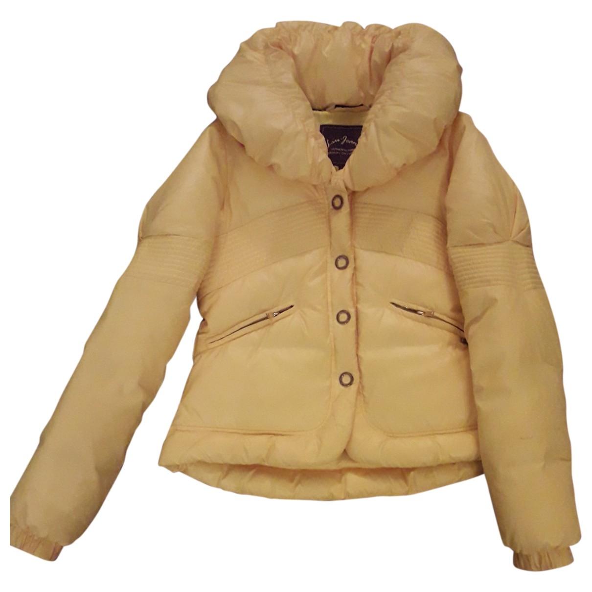 Liu.jo - Manteau   pour femme - jaune