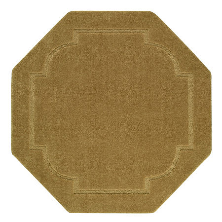 JCPenney Home Imperial Washable Octagonal Rug, One Size , Brown