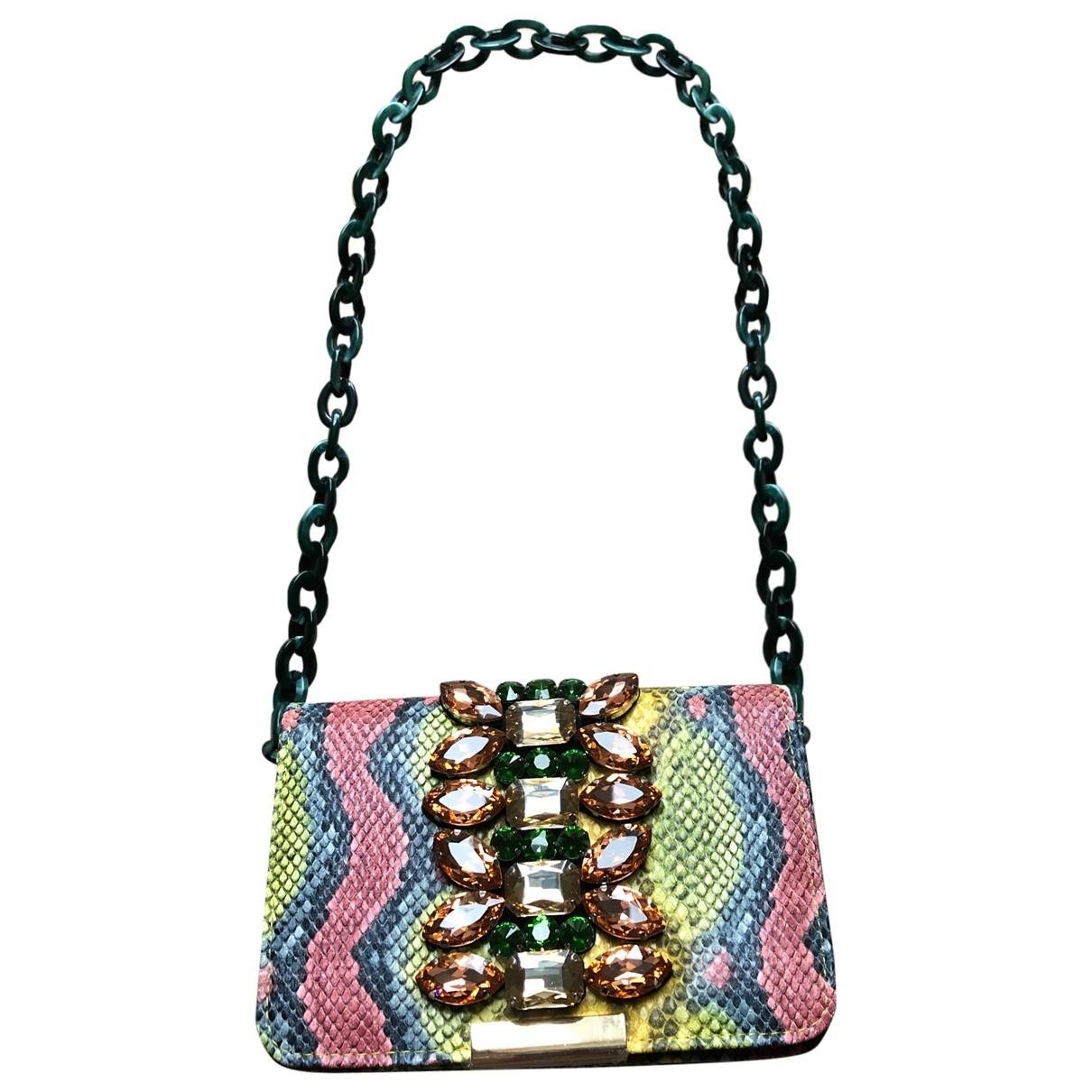 Uterque \N Handtasche in  Bunt Leder