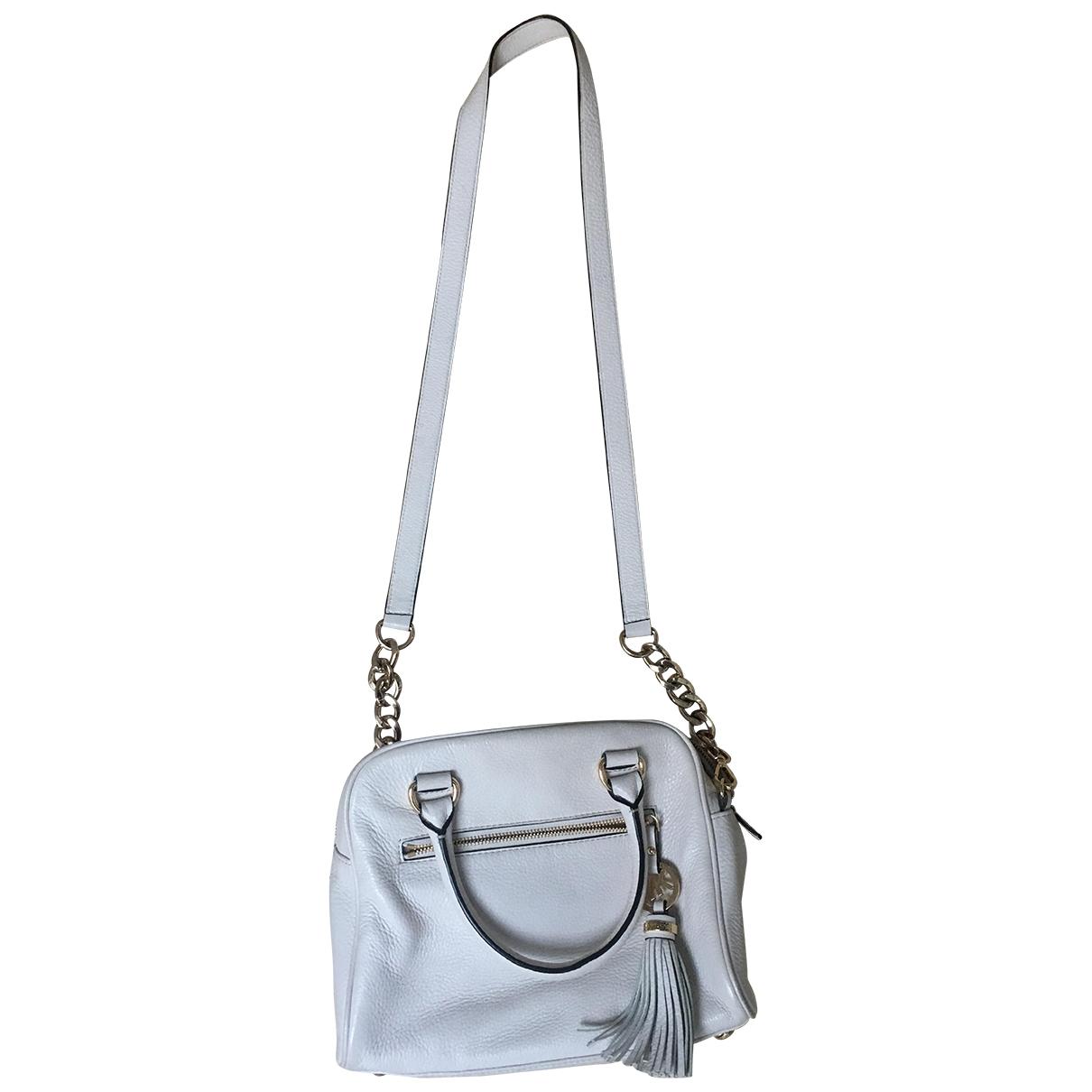 Michael Kors \N Ecru Leather handbag for Women \N