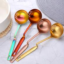 1pc Random Color Soup Spoon