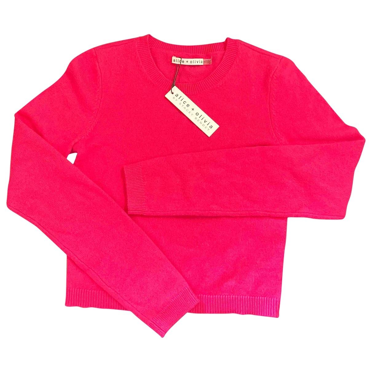 Alice & Olivia \N Pink Cashmere Knitwear for Women 34 FR