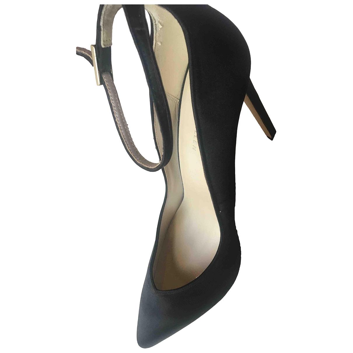 Karen Millen \N Black Cloth Heels for Women 39.5 EU