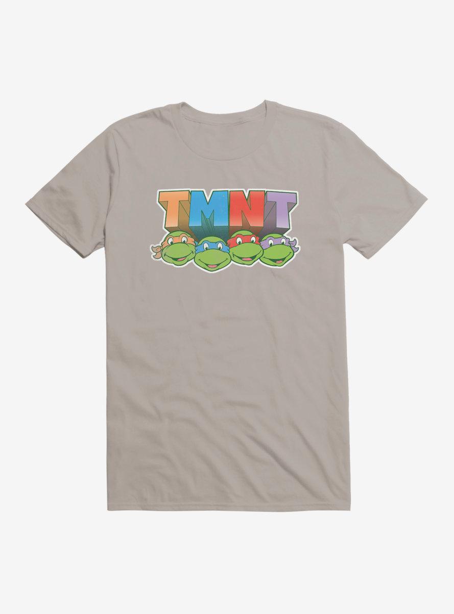 Teenage Mutant Ninja Turtles Acronym Block Letters T-Shirt