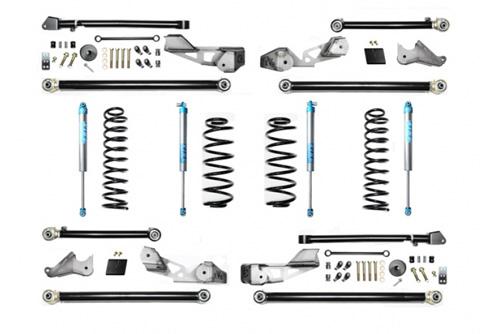EVO Manufacturing EVO-3015K2 Jeep Wrangler JLU 2.5 Inch High Clearance Long Arm w/EVO SPEC King 2.0 Shocks
