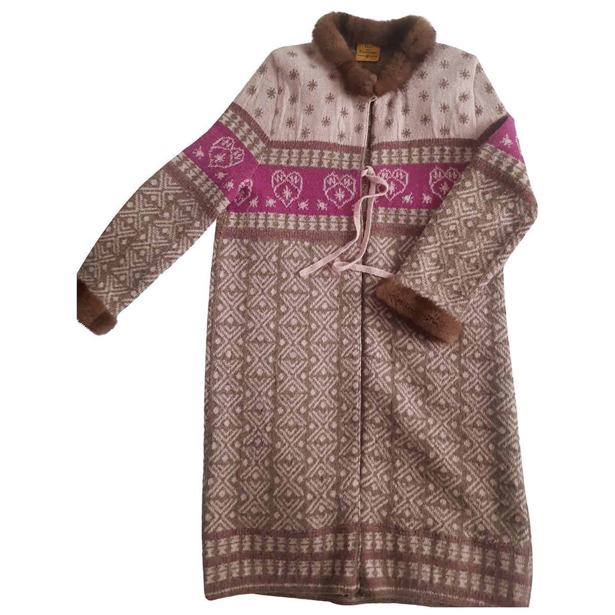 Ines De La Fressange Paris - Pull   pour femme en laine - multicolore