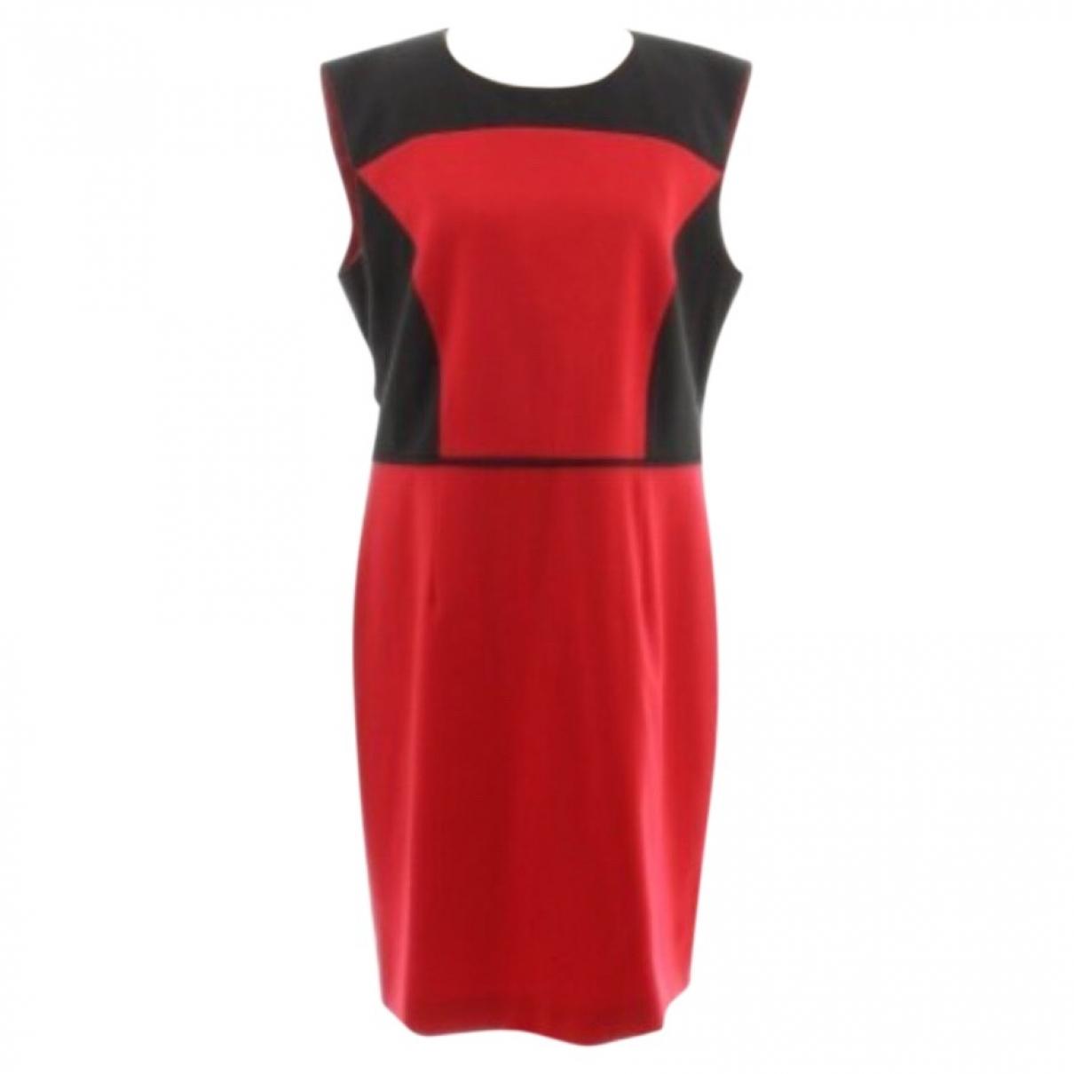 Hugo Boss \N Red Cotton dress for Women 42 FR