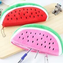 1 Stueck Zufaellige Bleistifttasche in Wassermelonenform