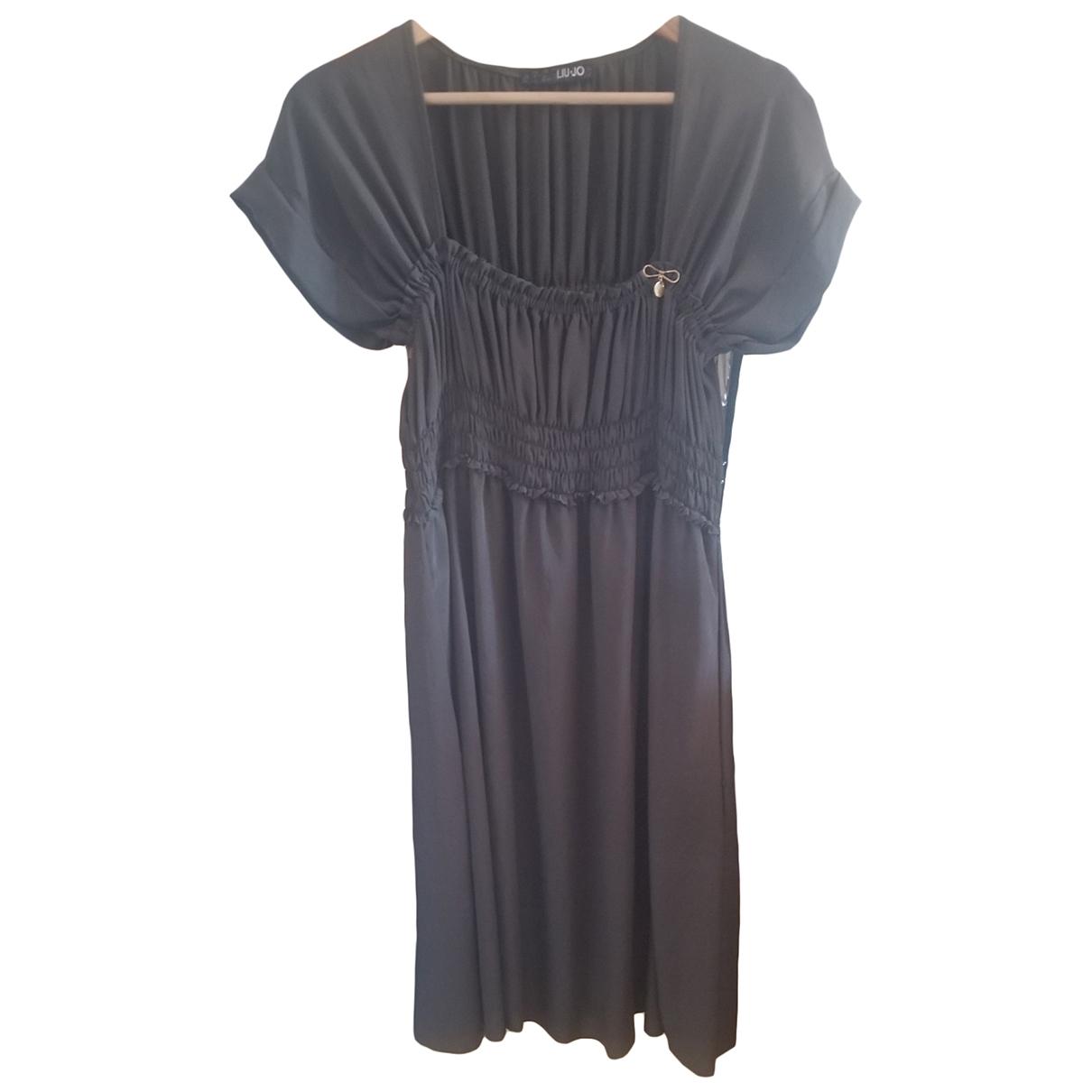 Liu.jo \N Kleid in  Gruen Polyester