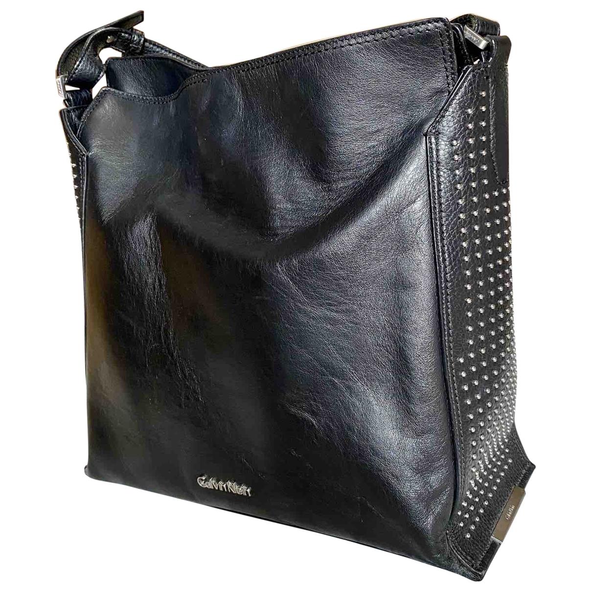 Bolso  de Cuero Calvin Klein