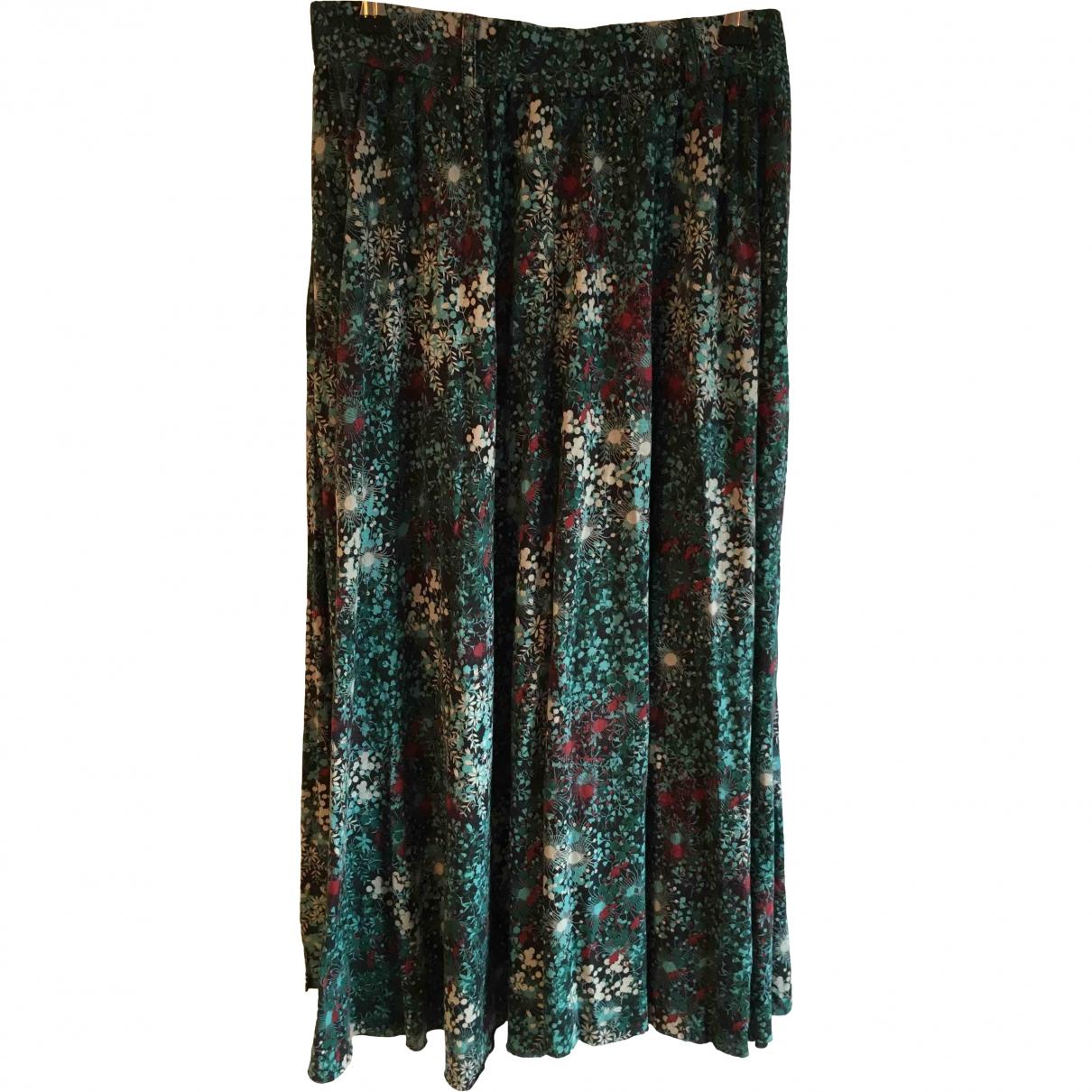 Ganni \N Multicolour Cotton skirt for Women M International