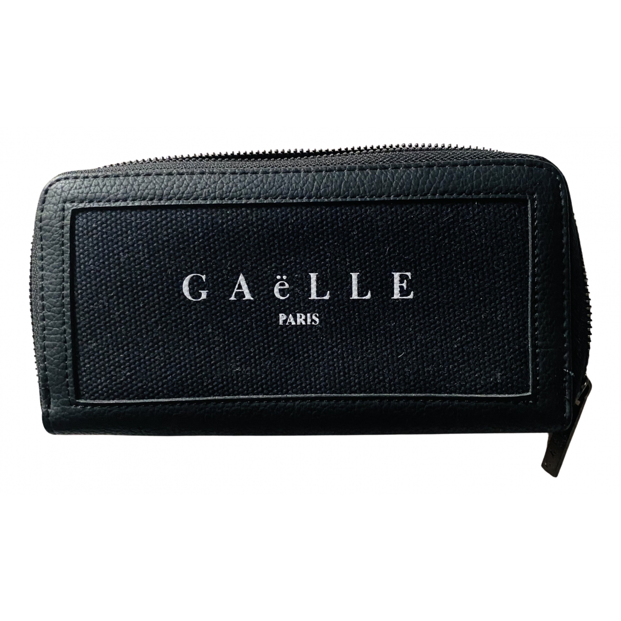 Gaelle Paris - Portefeuille   pour femme en toile - noir