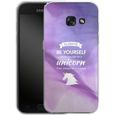 Samsung Galaxy A3 (2017) Silikon Handyhuelle - Be A Unicorn von Statements